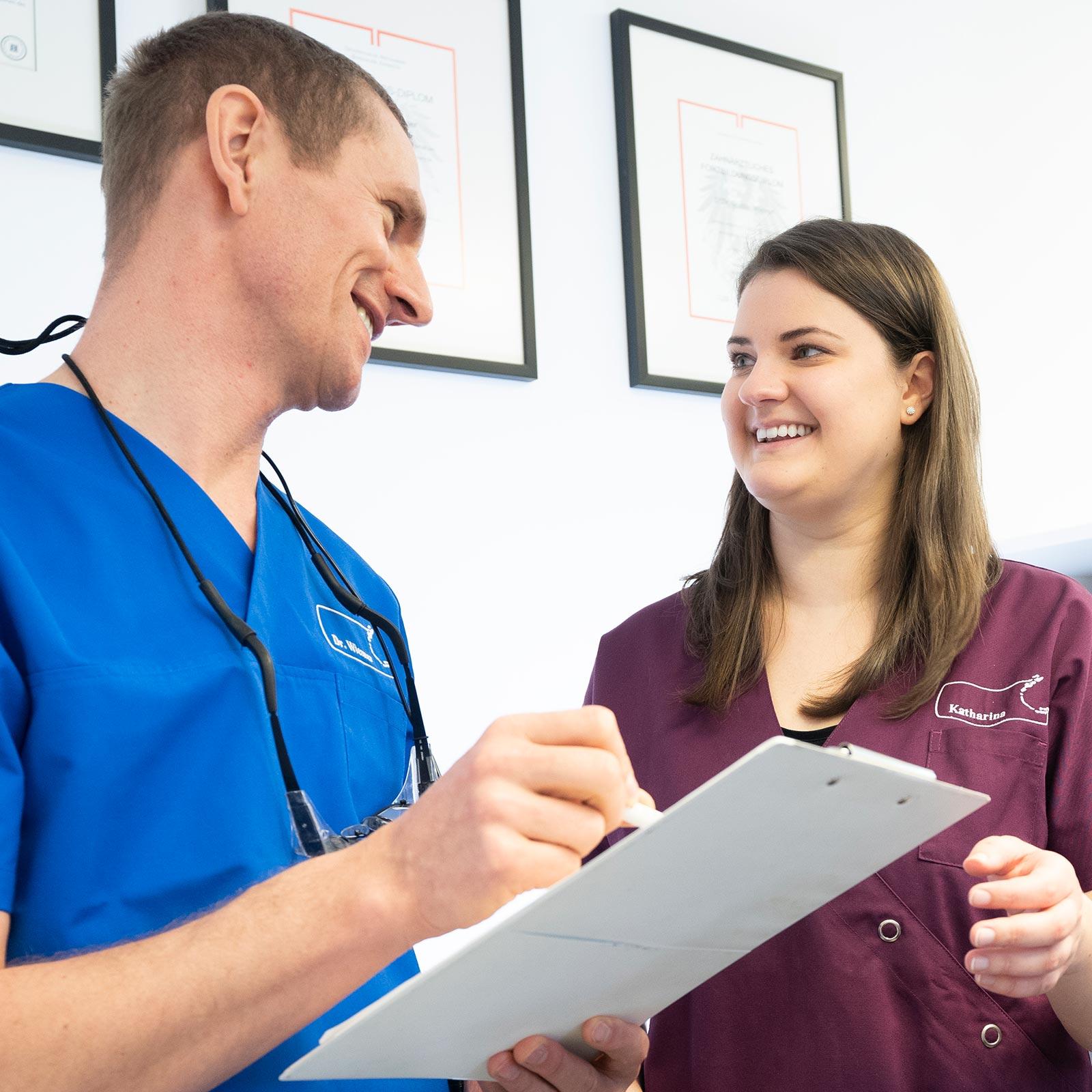 Schwerpunkte für gesunde Zähne bei Dr. Günter Wiesner in Innsbruck.